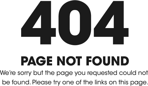 404: Page Not Found image