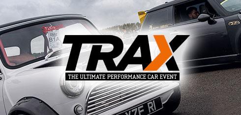 Trax Donginton 2018 logo