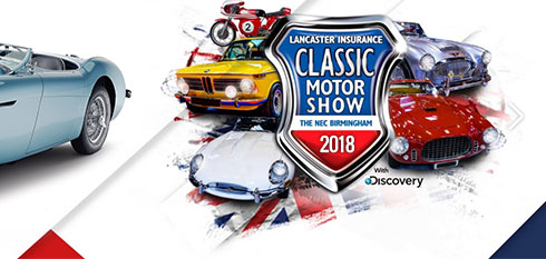NEC Classic Motor Show 2018 logo